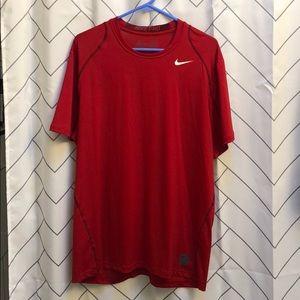Men's Nike Pro Red Sz XL
